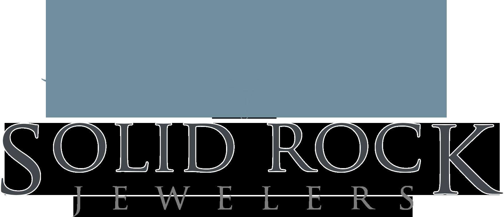 Solid Rock Jewelers Logo Dark